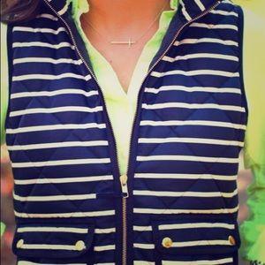 J. Crew striped vest 🌷